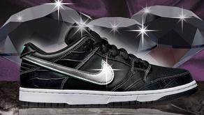 O Nike SB Dunk Low x Diamond Supply Co. chega ao Brasil neste mês