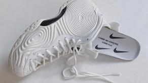 Novas imagens do Nike Air Foamposite feito pela Comme des Garçons