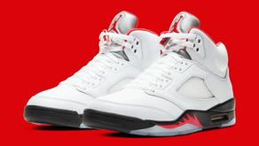 """Essa é a data de lançamento do Air Jordan 5 """"Fire Red"""" no Brasil"""