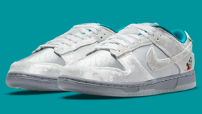 "Veja todos os detalhes do Nike Dunk Low ""Harbin International Ice and Snow"""