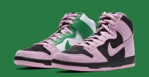 Esse Nike SB Dunk High inverte as cores originais do tênis + Lançamento no Brasil