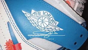 Primeiras Imagens da nova cor do Air Jordan 1 com a Off-White