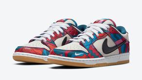 O novo Nike SB Dunk Low x Parra chega às lojas no final de Julho