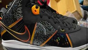 """Veja os detalhes do Nike Lebron 8 """"Space Jam"""""""