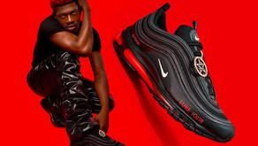 """Explicamos passo a passo a polêmica do Nike Air Max 97 """"Satan"""" de Lil Nas X e MSCHF"""