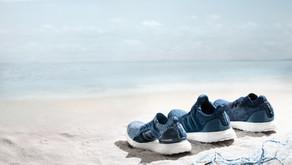 Novo pack da parceria entre a Parley e a adidas com material reciclável
