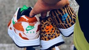 Parece que a atmos irá lançar três novos Nike Air Max 1 com - Animal Print -