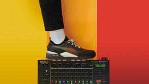O novo - Chunky Sneaker - da PUMA é inspirado em uma caixa de ritmos dos anos 80