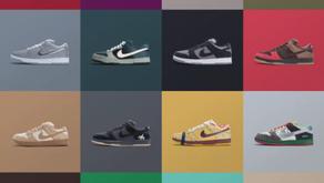 Nike SB vai sortear 15 Dunks clássicos em comemoração aos 15 anos da marca