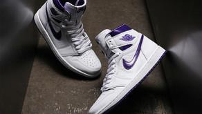 """Air Jordan 1 High OG WMNS """"Court Purple"""" é mais um lançamento que chega ao Brasil"""