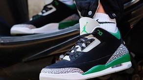 """O Air Jordan 3 """"Pine Green"""" chega ao Brasil ainda em Outubro"""