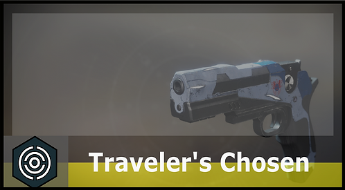 Traveler's Chosen Exotic Sidearm