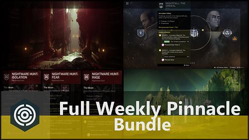 Full Weekly Pinnacle Bundle