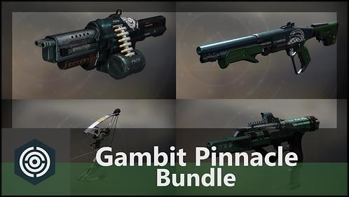 Gambit Pinnacle Weapon Bundle