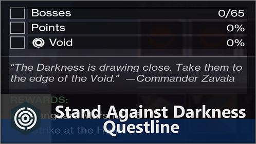 Stand Against the Darkness Quest