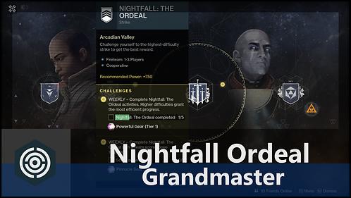 Nightfall: Ordeal - GRANDMASTER