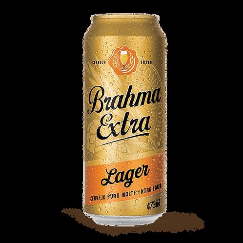 Cerveja Brahma Extra Lata 473ml