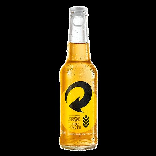 Cerveja Skol Puro Malte LN 275ml