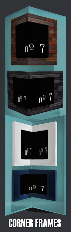 no. 7 corner frames
