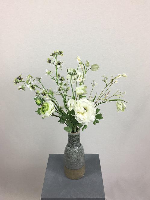 Blumenstrauss Weiss Smila. Größe: Höhe 55cm bis 60cm