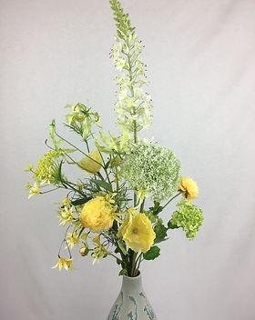 Blumenfeuerwerk Seidenblumen Gelb Lotta