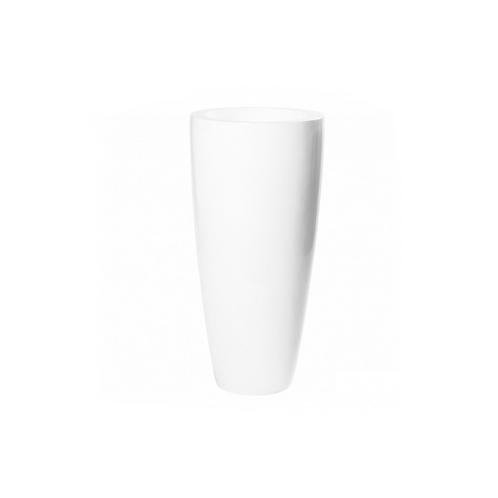 Dax L D37 H80cm Glänzend White