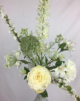 Blumenfeuerwerk Seidenblumen Weiss Xenia