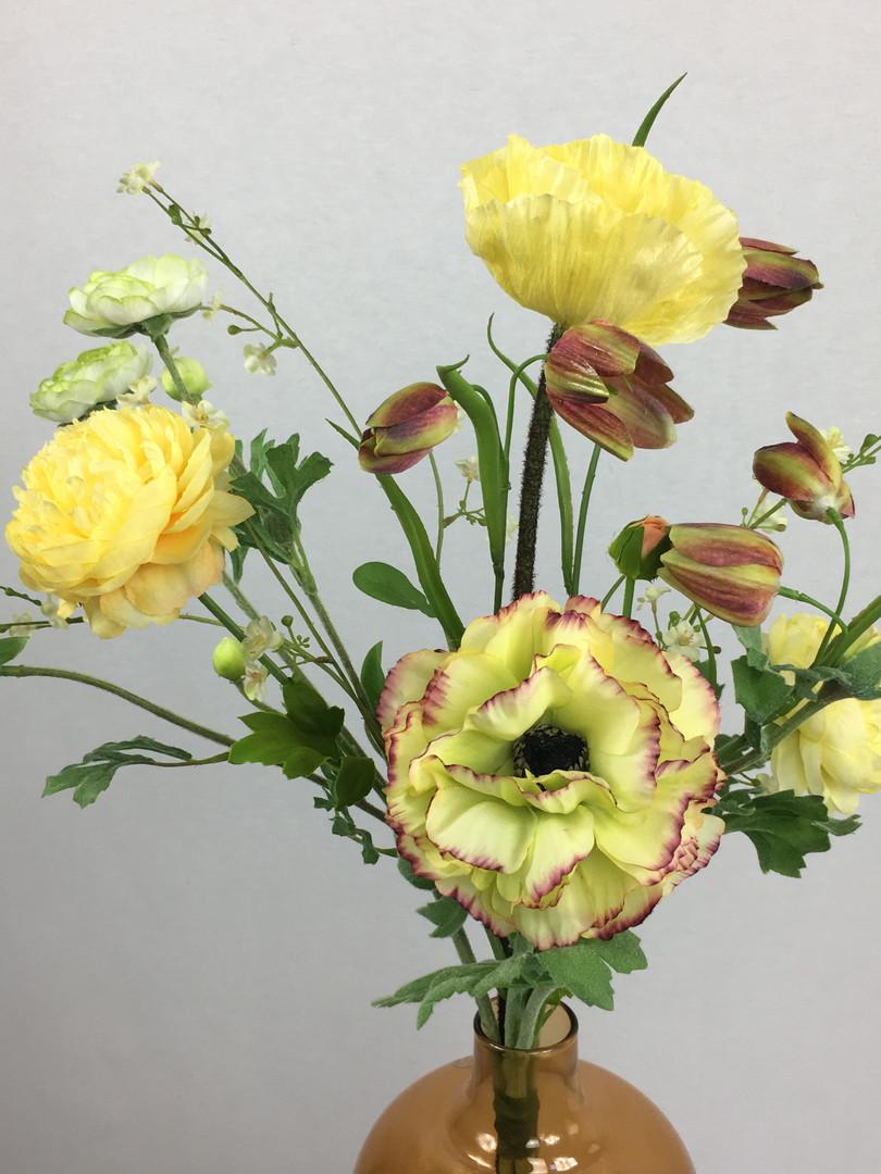 Blumenfeuerwerk Seidenblumen Gelb Smila