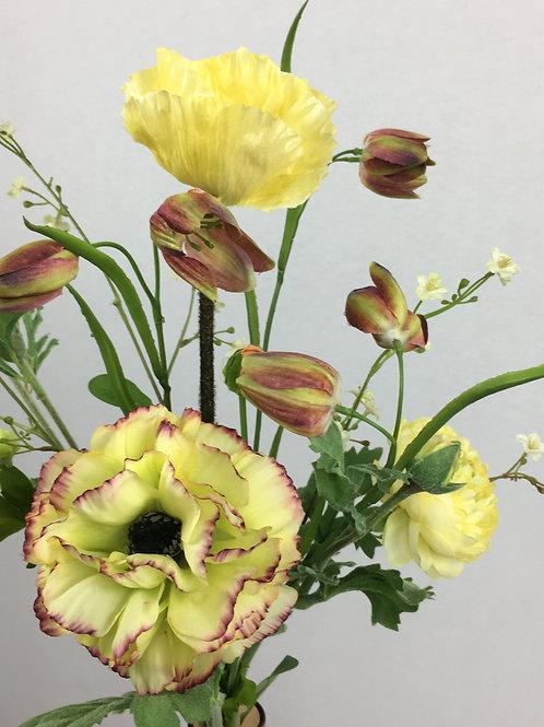 Blumenstrauss Gelb Smila. Größe: Höhe 55cm bis 60cm