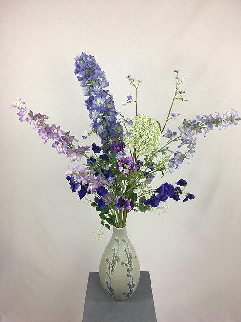 Blumenstrauss Blau Lotta Größe: Höhe 95cm bis 100cm