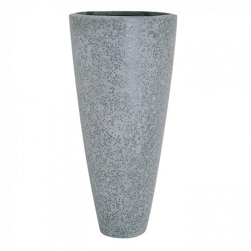 Pflanzegefäß Glitter D46 H100cm Grau