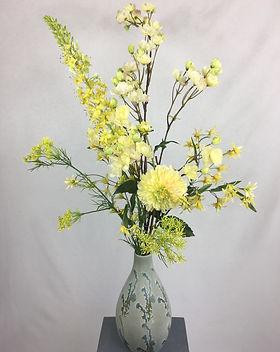 Blumenfeuerwerk Seidenblumen Gelb Xenia