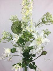 Blumenfeuerwerk Seidenblumen Weiss Lotta