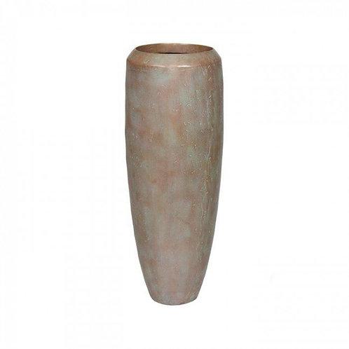 Pflanzgefäß Small D30 H80cm Bronze