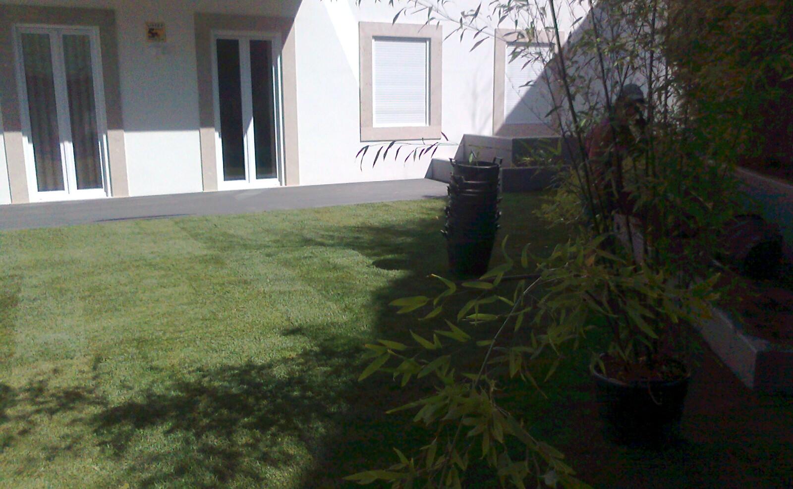 Construção de Jardim em Apartamento de Lisboa