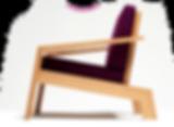 fauteuil moderne Doucine Hetch