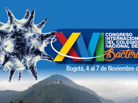 XVI Congreso Internacional - Colegio Nacional de Bacteriología - Nov 4 al 7 /2016