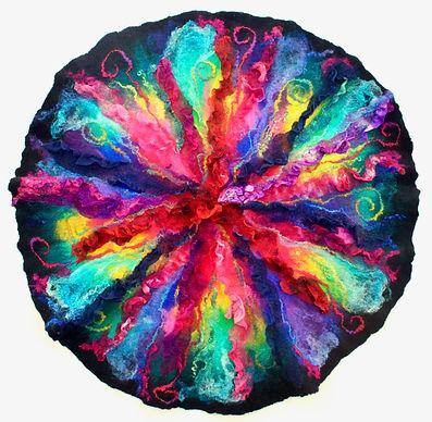 Mandala Fibre Art