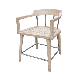 Alika Dining Chair Weathered Bisque