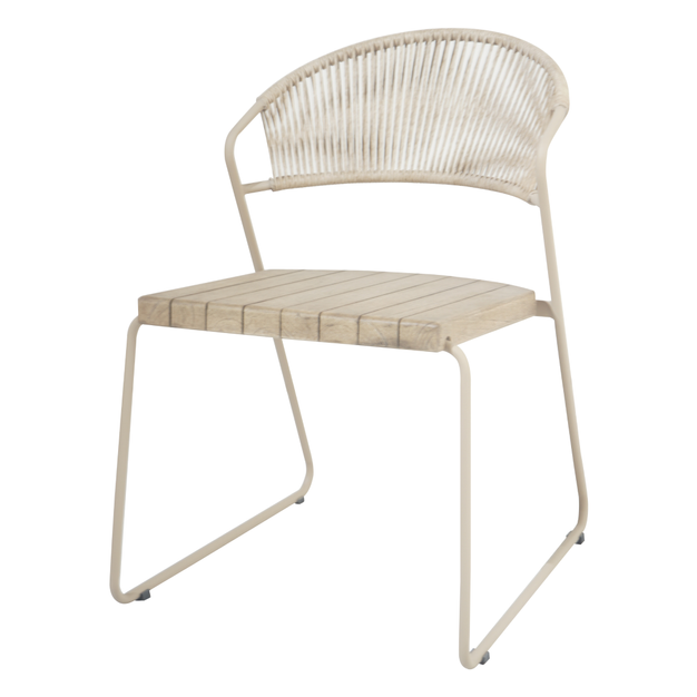 Naoko Dining Chair White Shell