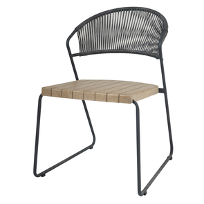 Naoko Dining Chair Light Coal