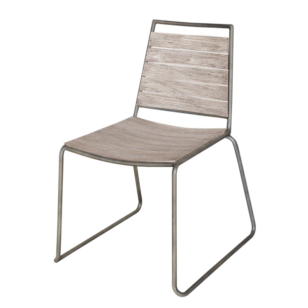 Filo Dining Chair Weathered Brown