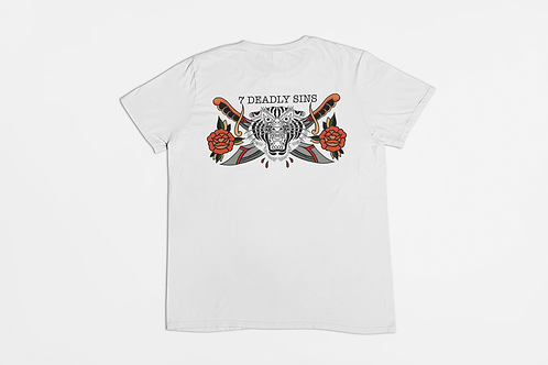 Bold Tiger Tattoo T-shirt