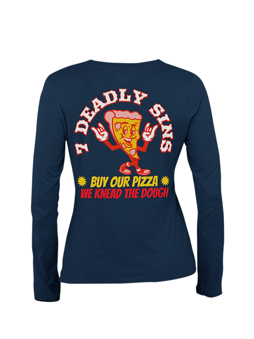 Pizza Alternative Streetwear Long Sleeve T-shirt