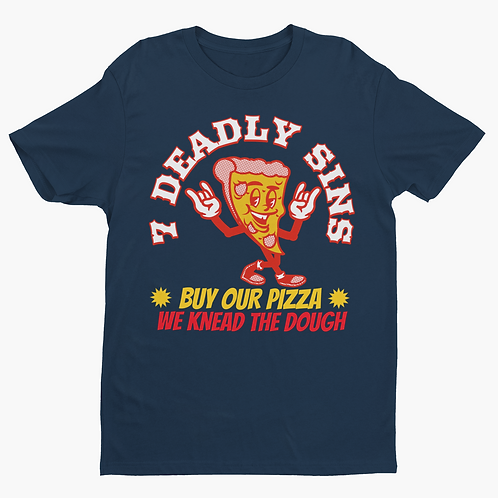 Pizza Alternative Streetwear Graphic Tee