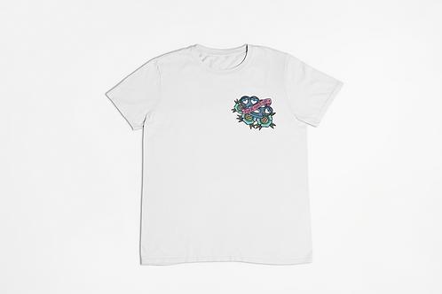 Fuck Shit Up Printed Logo T-shirt in White