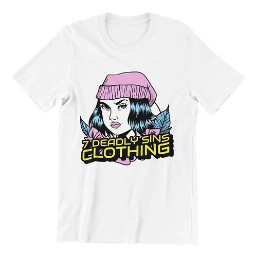 Skater Girl Streetwear T-shirt