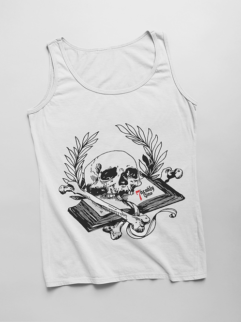 Book of Mortality Tank by 7 Deadly Sins Clothing
