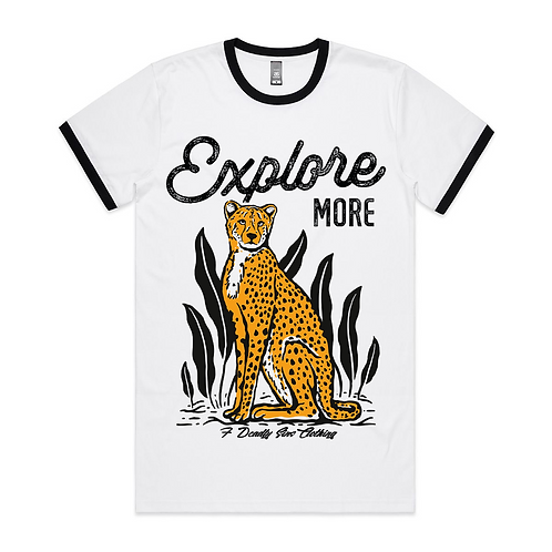 Explore More Adventurer Alternative Streetwear Ringer
