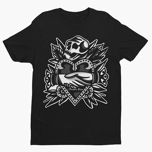 Deal With Death Tattoo T-shirt